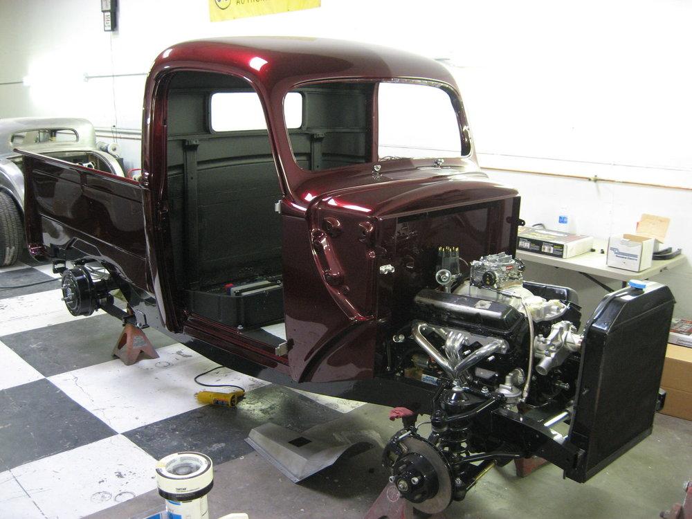 Dave Pozzi 1941 Ford Pickup (Lepesh Pickup) - South City Rod & Custom