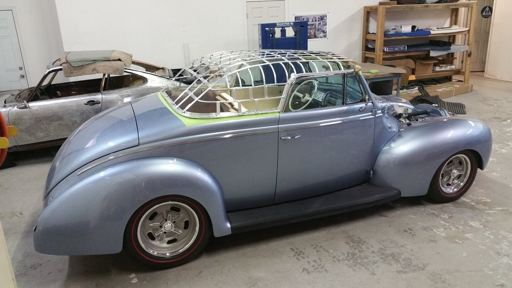 Tony Jurado 1940 Ford Convertible - South City Rod & Custom