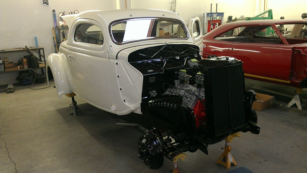 Jim Bobowski 1936 Ford Coupe (Pierson Brothers Coupe) - South City Rod & Custom