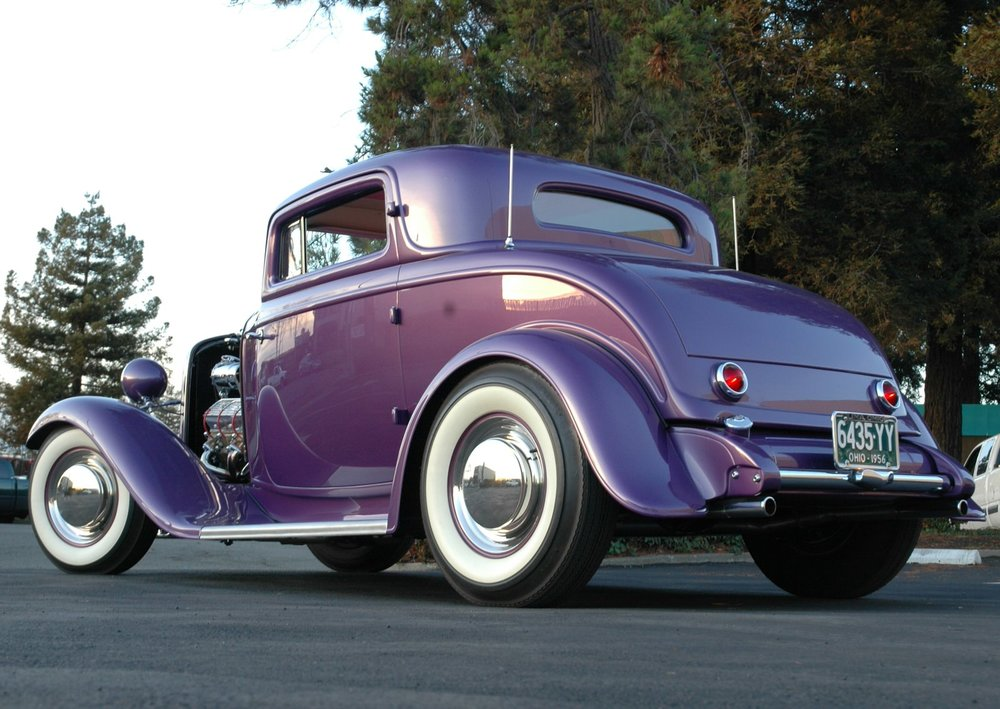 Richard Munz 1932 Ford 3-Window (Bill Breece Coupe) - South City Rod and Custom - Photo by Pat Ganahl