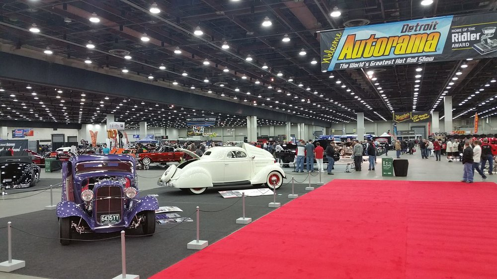 South City Rod & Custom - at Detroit Autorama
