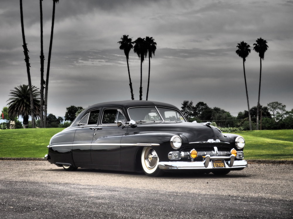 Ryan Finlayson 1950 Mercury - Photo by John Drummond