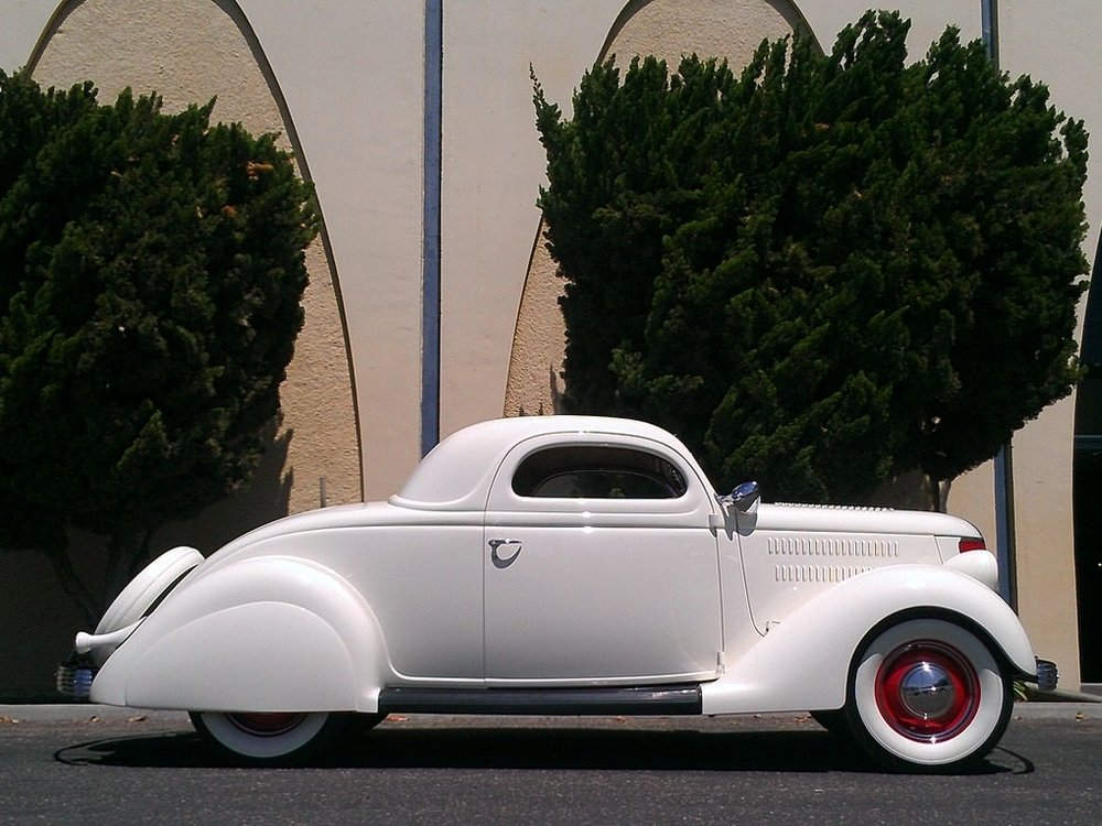 Jim Bobowski 1936 Ford Coupe (Pierson Brothers Coupe)