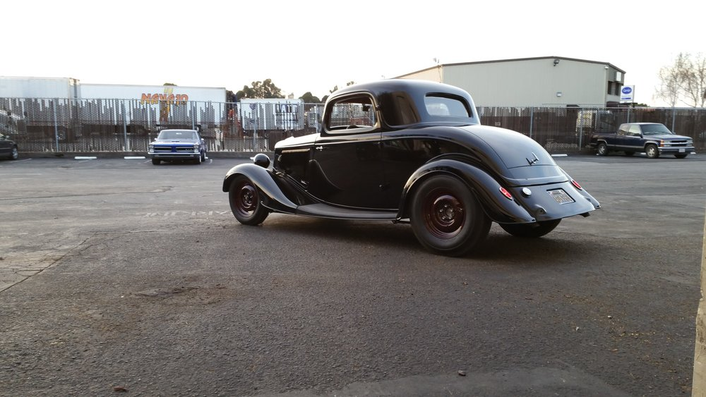 Jim Cutts 1934 Ford 3-Window   South City Rod & Custom