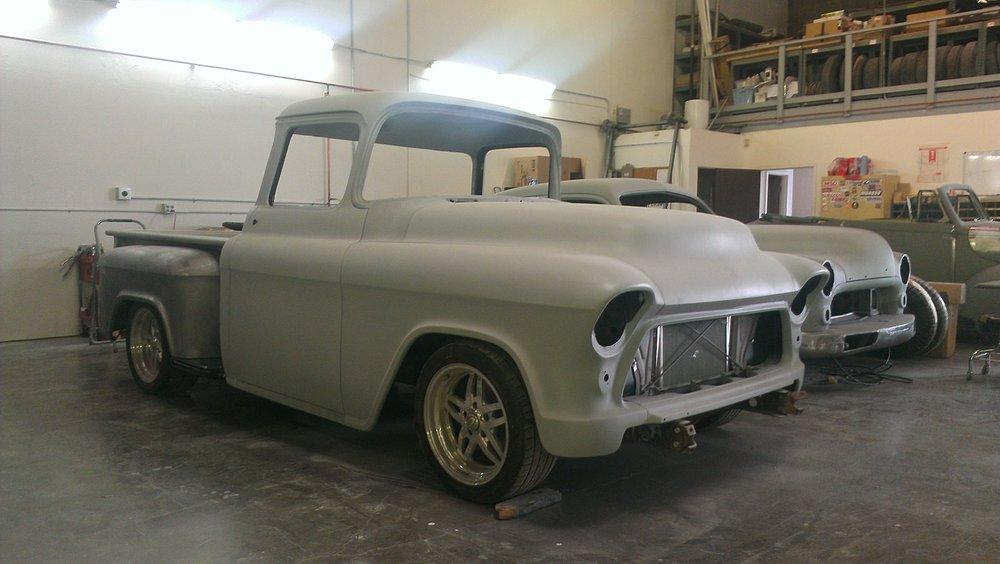 Miguel Nava 1956 Chevy Pickup - South City Rod & Custom