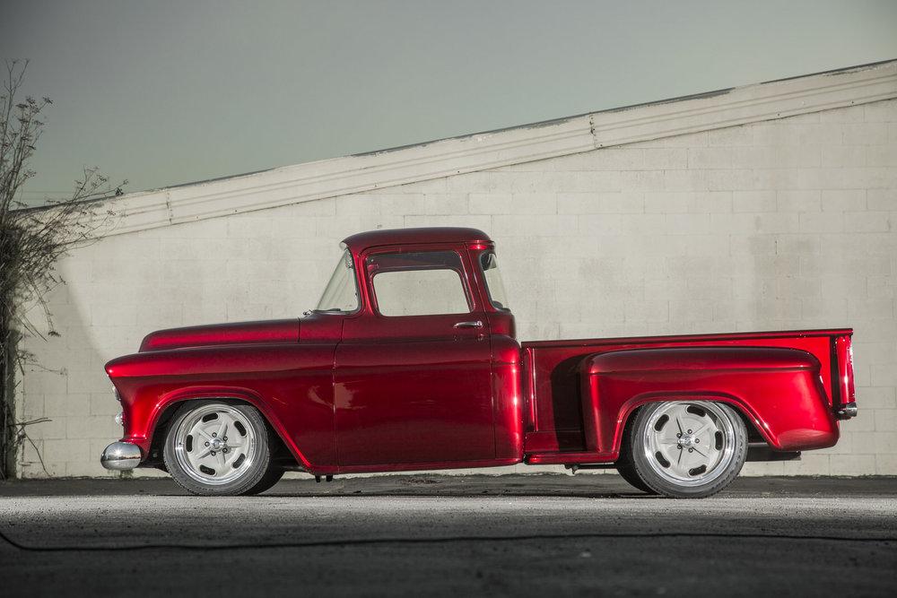 Miguel Nava 1956 Chevy Pickup - South City Rod & Custom - Photo by Tim Sutton