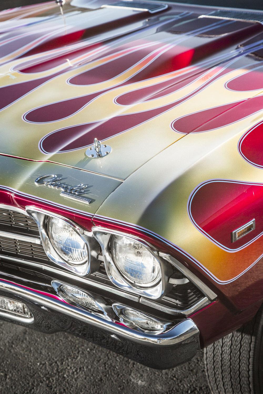 Lou Lafon 1969 Chevelle - South City Rod & Custom - Photo by Tim Sutton