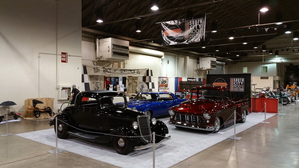 South City Rod & Custom - at Grand National Roadster Show in Pomona, CA