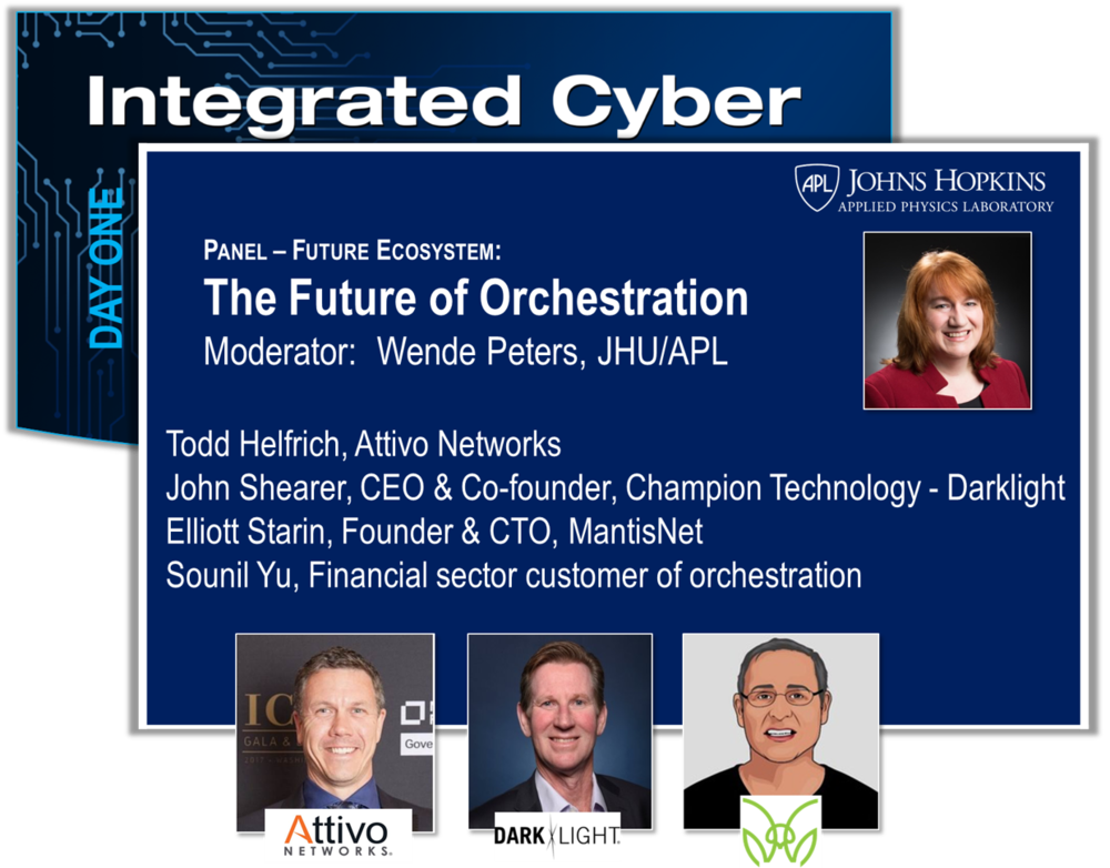 There are many new products on the market that have automation at their core, and their goal is to increase the speed and scale of cyber defense. They reflect IACD principles and tenets, and yet, if you buy them and try to integrate with the current IACD framework using existing security orchestration methodologies,you may find it hard to realize their full value. This should not be the case. How does security orchestration need to evolve to optimally support the inclusion of an advancing market in automated defenses, analysis, decision-making, and information integration?    View Slides