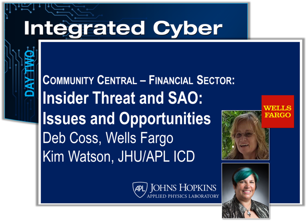 The FS-ISAC North American Insider Threat Working Group developed a framework to support efforts to manage insider threat to systems, assets, data,and capabilities. IACD partnered with this working group to provide playbooks to support implementation of certain processes identified in the framework.This partnership brought to light the value of automation to support insider threat program processes and activities. In this talk we will describe the framework, highlight the IACD playbooks and their relationship to the framework, and discuss the issues and opportunities related to the inclusion of security automation and orchestration.    View Slides