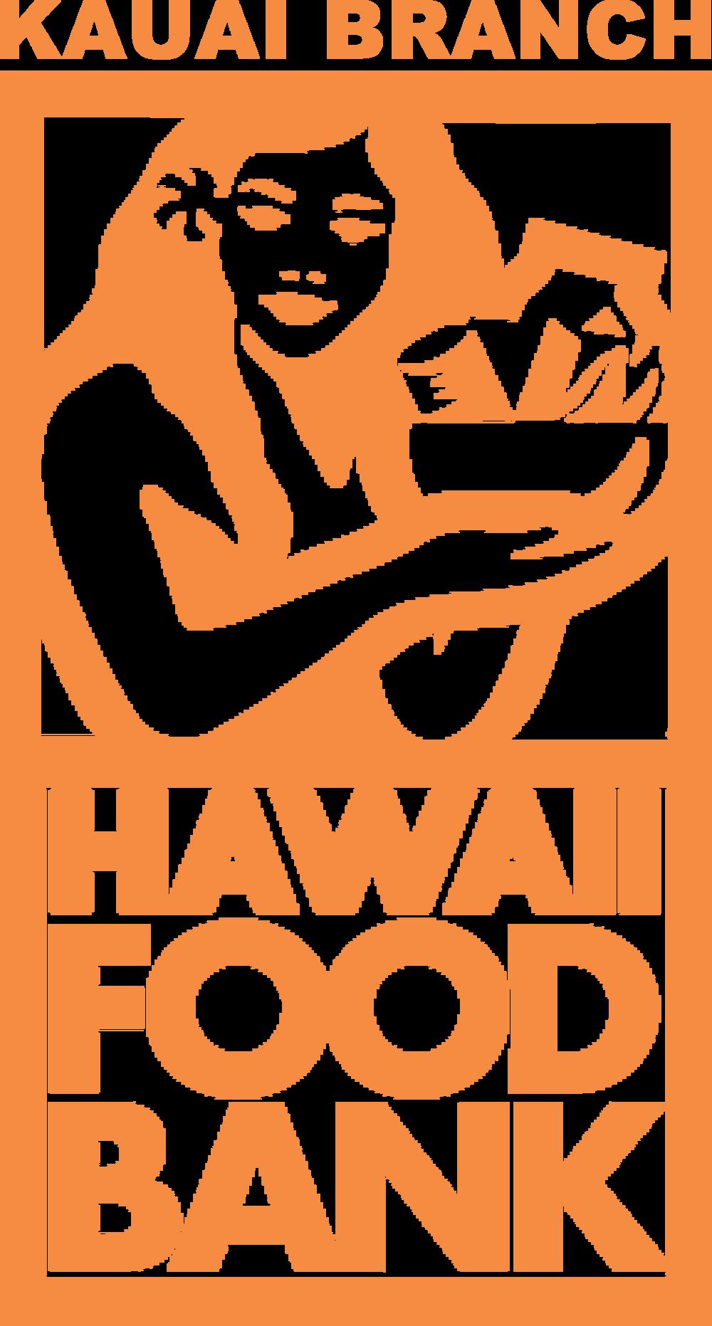Hawaii Foodbank Kauai Branch Logo Orange2017.png