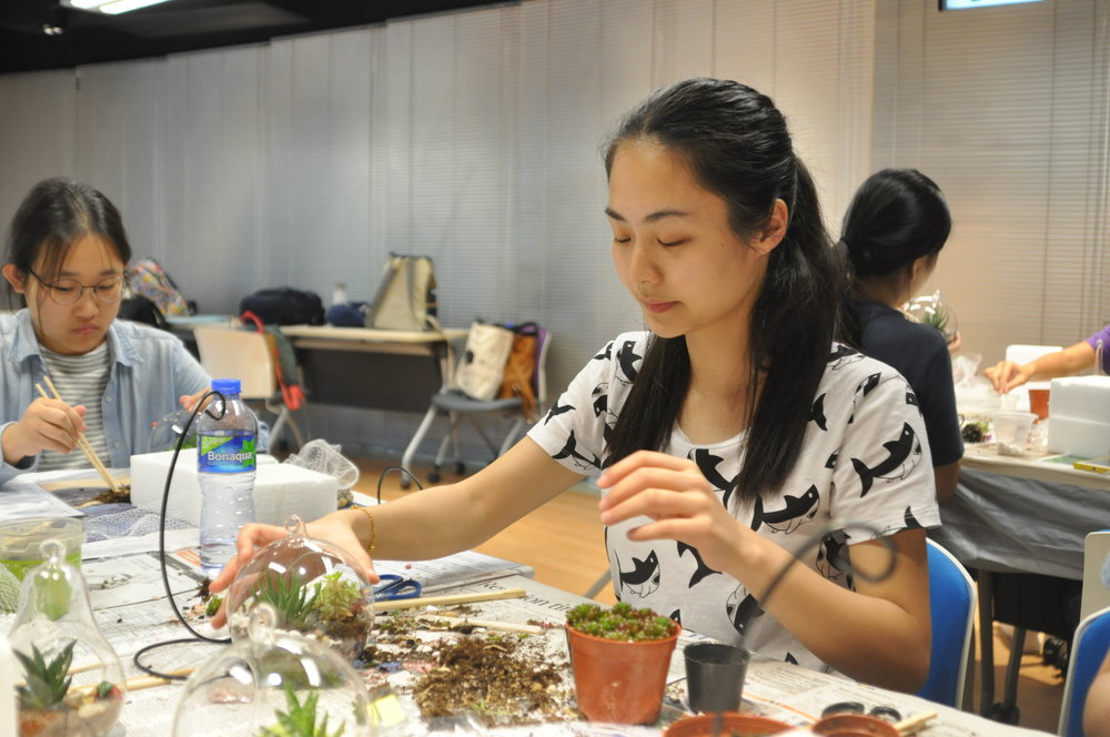 HKUST Arts Festival 2017 - Art Barter - Volunteer Helper Recruitment for Glass Terrarium DIY Workshop