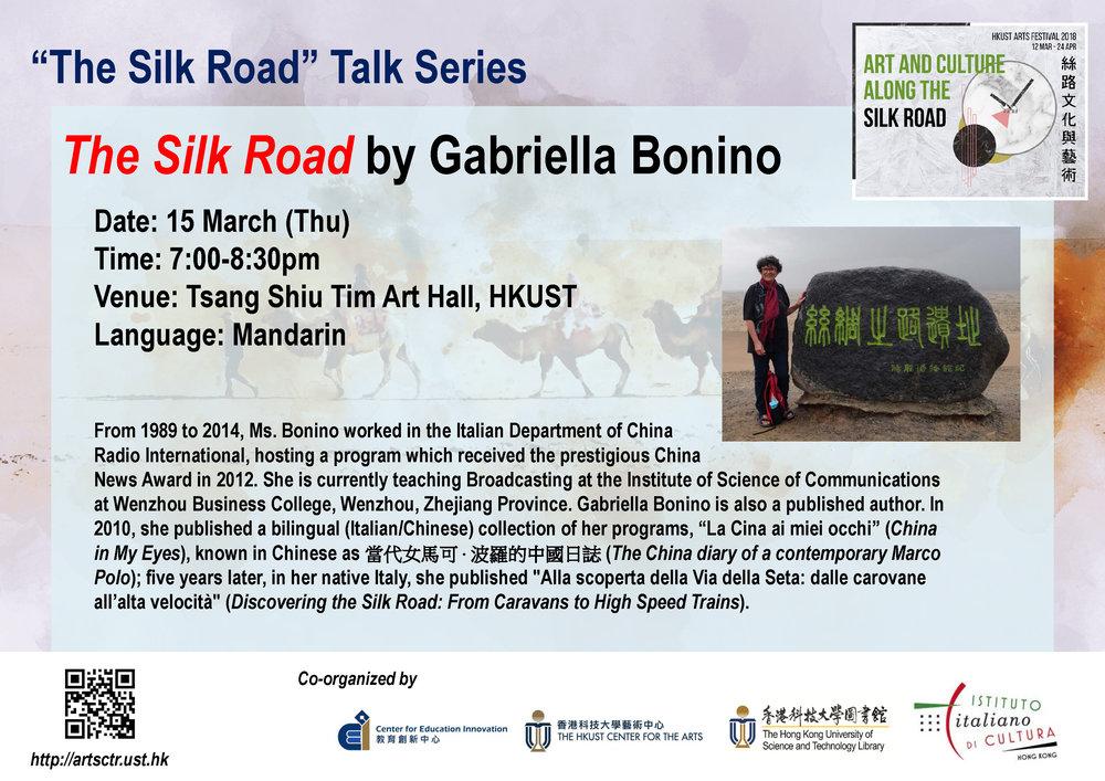 The Silk Road by Gabriella Bonino   Mar 15, 2018