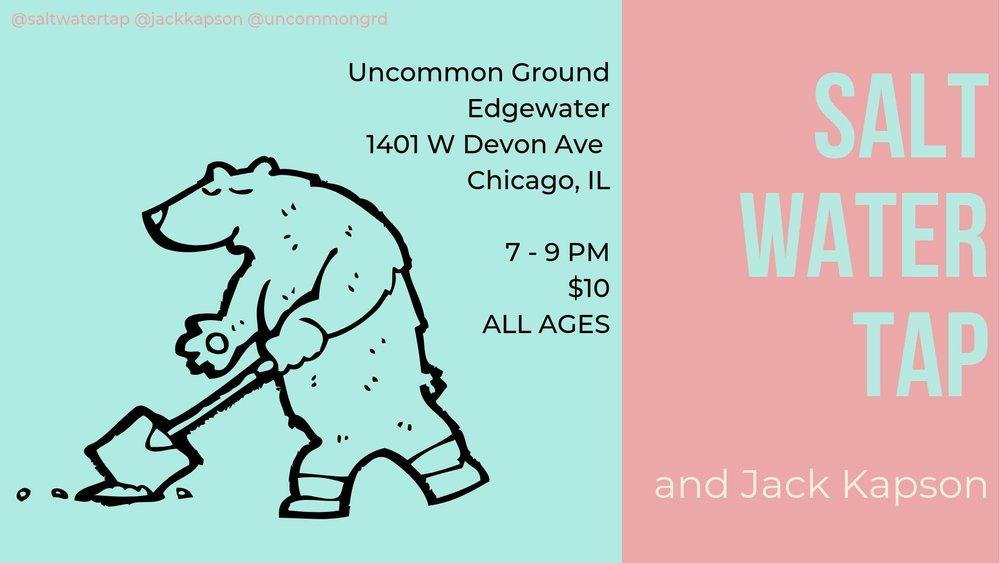 Jack Kapson, Saltwater Tap at Uncommon Ground.jpg