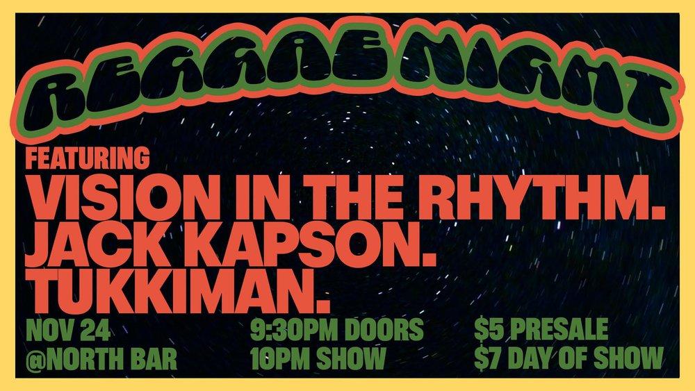 Jack Kapson, Vision in the rhythm, tukkuman at Northbar.jpg
