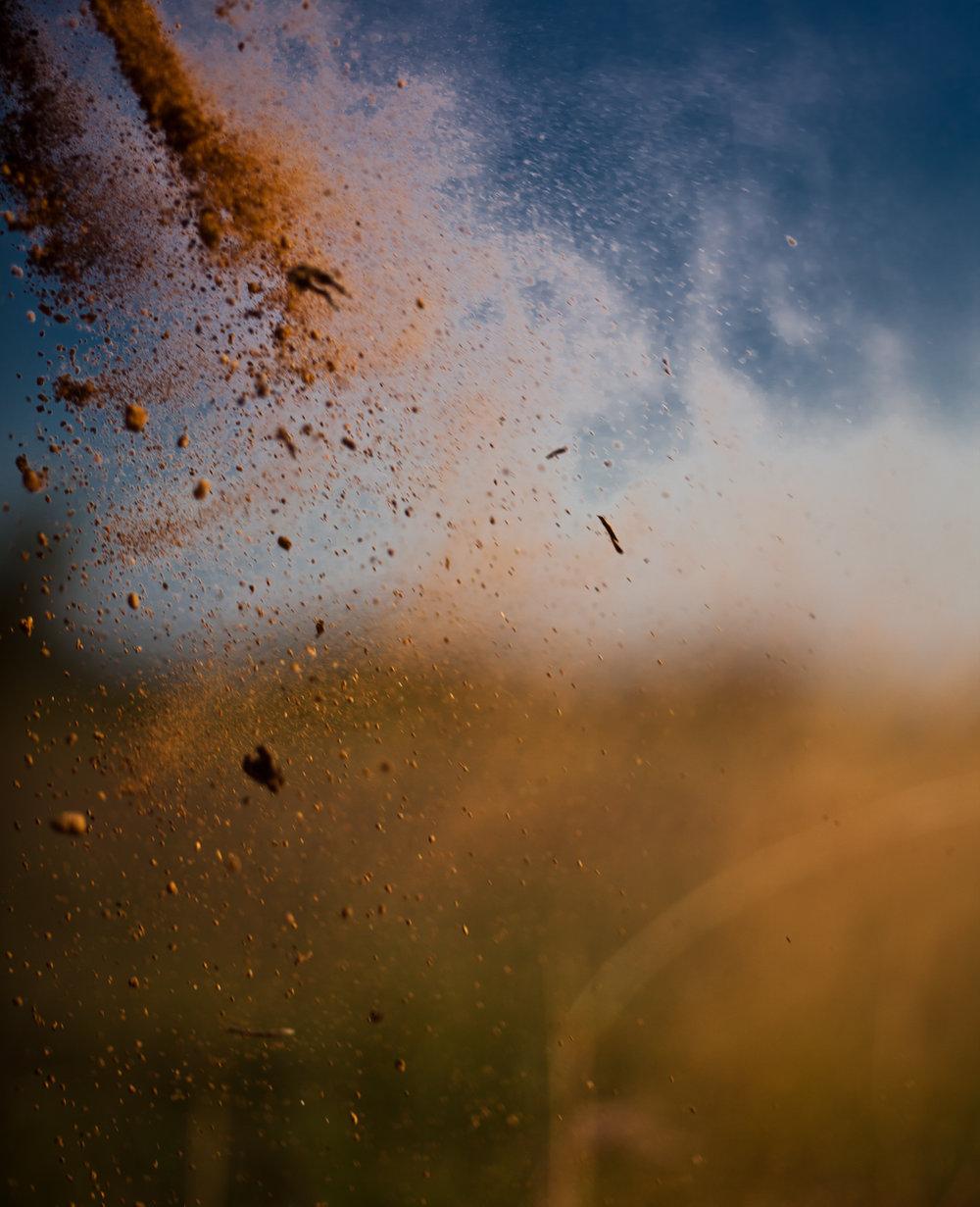 """Cena do filme """"A Poeira e o vento"""