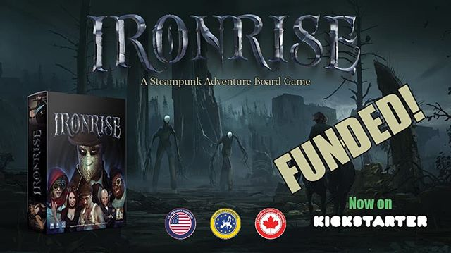 We're fully funded! Still live for a couple of weeks, so perhaps we'll get to some of those stretch goals. Link in bio.
