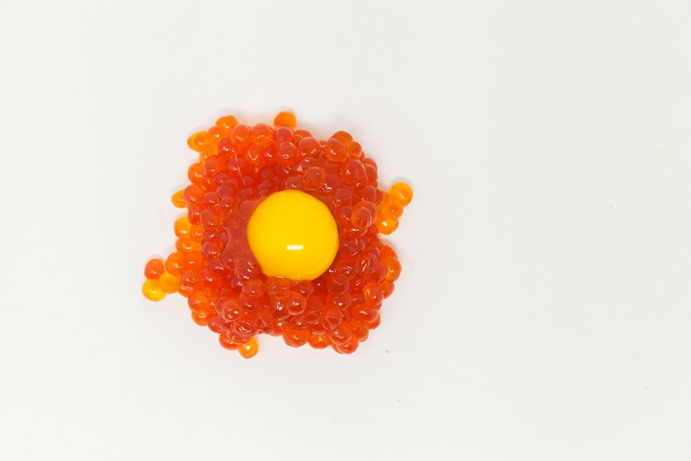 Ikura & Quail Egg + $5