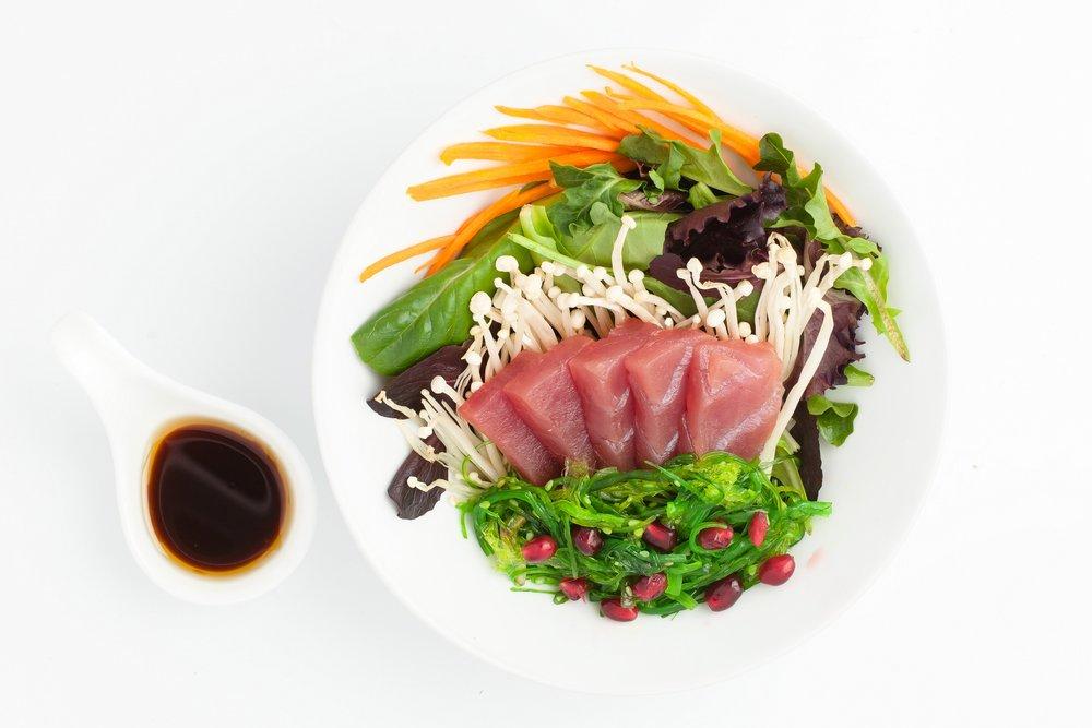 Tuna Sashimi Salad  $10.95