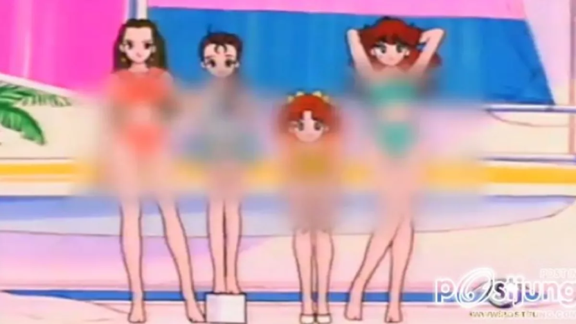 """""""In Thailand, TV stations [...] are notorious for their immense levels of censorship, blurring out any shots of women in swimsuits regardless of how tame or tasteful they may be."""""""