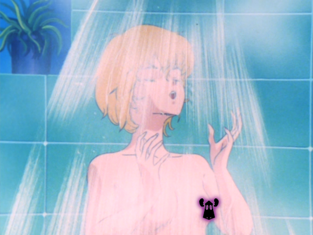 """""""[With] Jeanne's shower scenes in The Super Dimension Cavalry Southern Cross, [...] Tomino had succeeded in making nudity a staple of the real robot genre."""""""