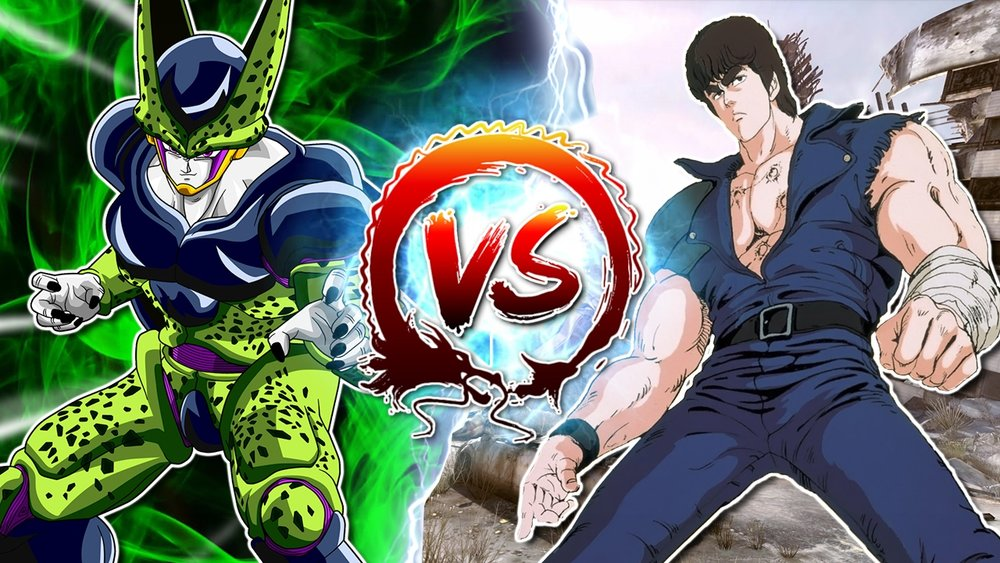 Cell Vs. Kenshiro - TeamFourStar DBZ Abridged