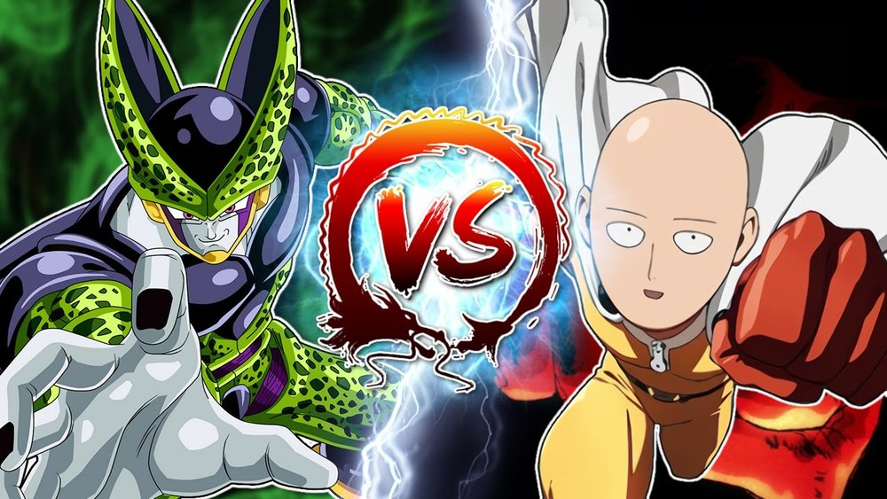 Cell Vs. One Punch Man - TeamFourStar DBZ Abridged