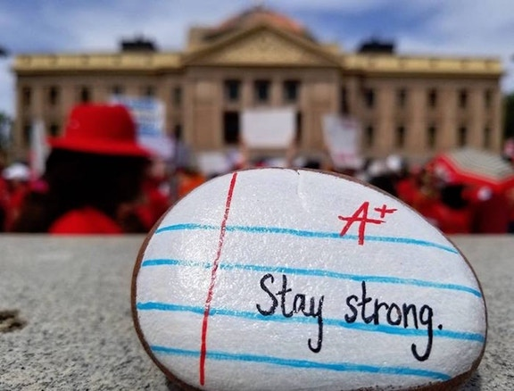 Stevenson Helps Parents Find Support During Strikes - Thousands of city leaders and community members across Arizona were opening their doors to provide free or low-cost child care and meal services to families impacted by the statewide educator's walk-out.