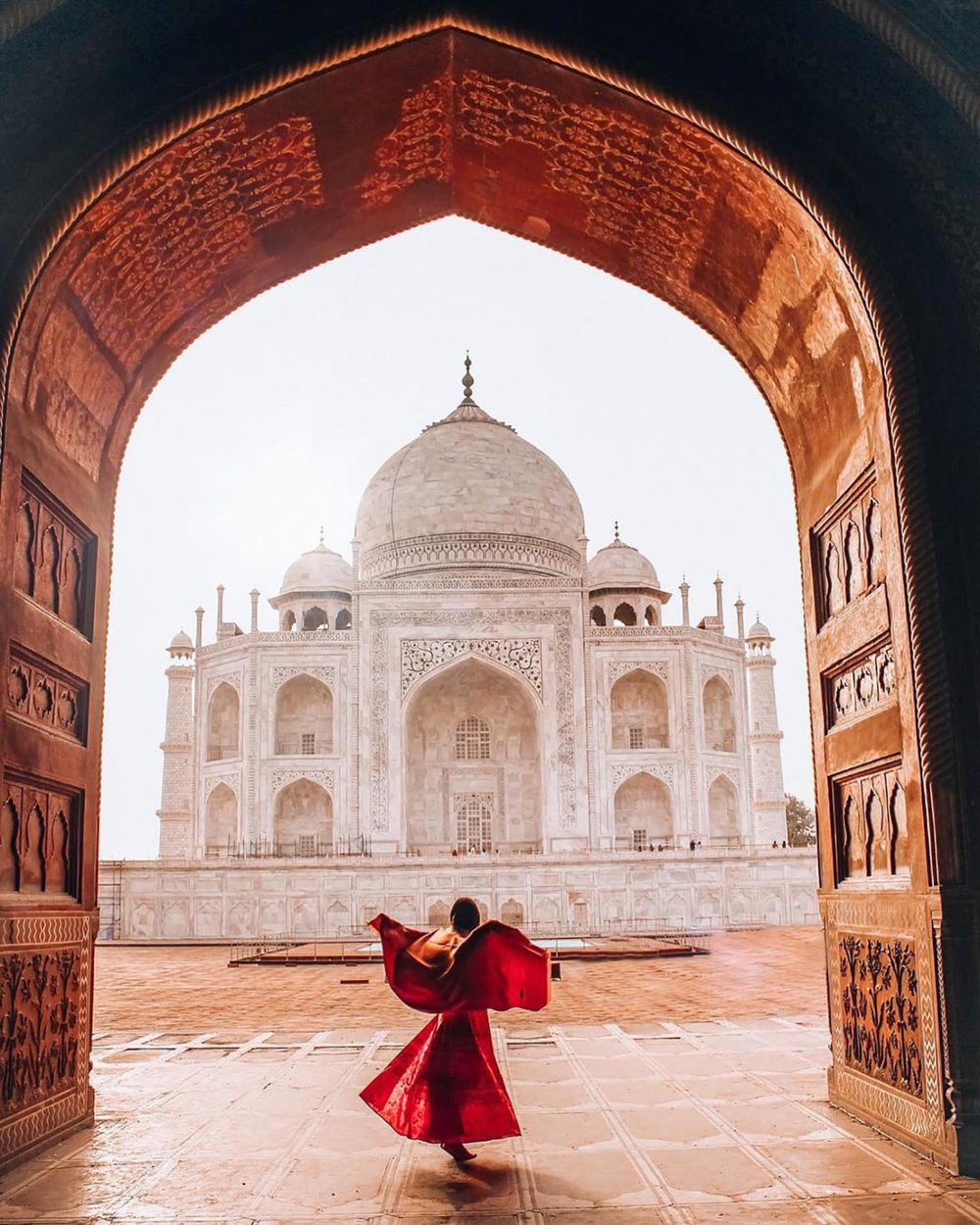January 27 - February 6, 2020 - 10 Nights / 11 DaysGroup Size: 16*12 Spots Open**VISA REQUIRED*Immerse yourself in culture and join us as we explore the pink city and the city of lakes in Rajasthan, watch the sunrise in Agra overlooking the Taj Mahal, and get ready for the most experiential trip of your life!Here's a little of what you can expect:*Luxury Hotel Accommodations**Curated Dining Options Paired with Local Delicacies**Stroll through Golden Palaces + Historic Forts**Take an Authentic Cooking Class**And a Squad of Girls to Keep You Company!*