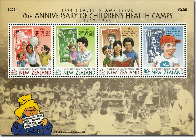 1994 Health Stamp Issue - http://virtualnewzealandstamps.blogspot.co.nz/p/health-stamps-part-three.html