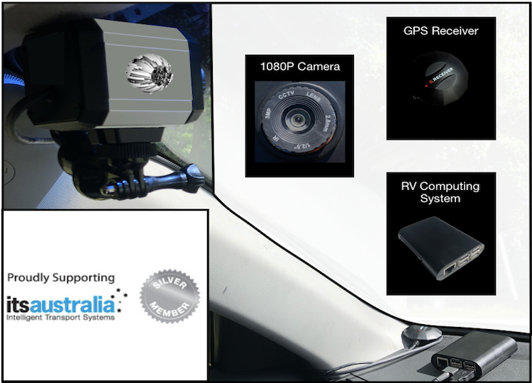 Retina Visions In-Vehicle Setup and ITS Australia - 26.04.18