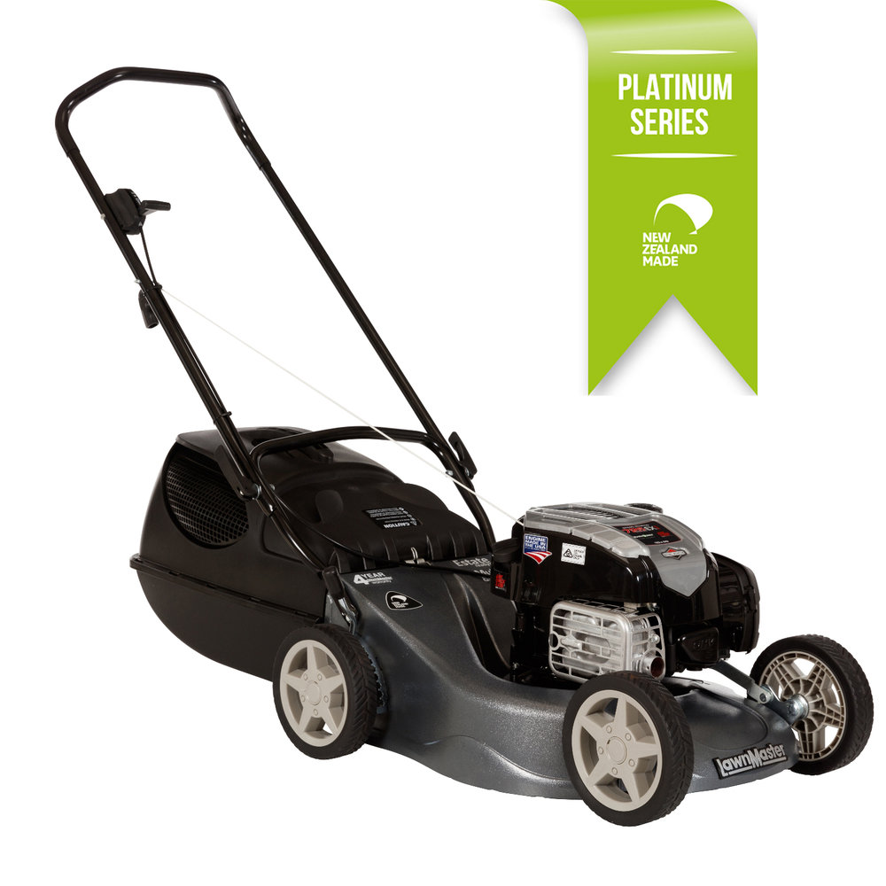 Lawn Master Range - Proudly made in New Zealand the Estate range offers the best in lawn mowing technology. With a 4 year domestic warranty you are assured of mnay years of trouble free mowing