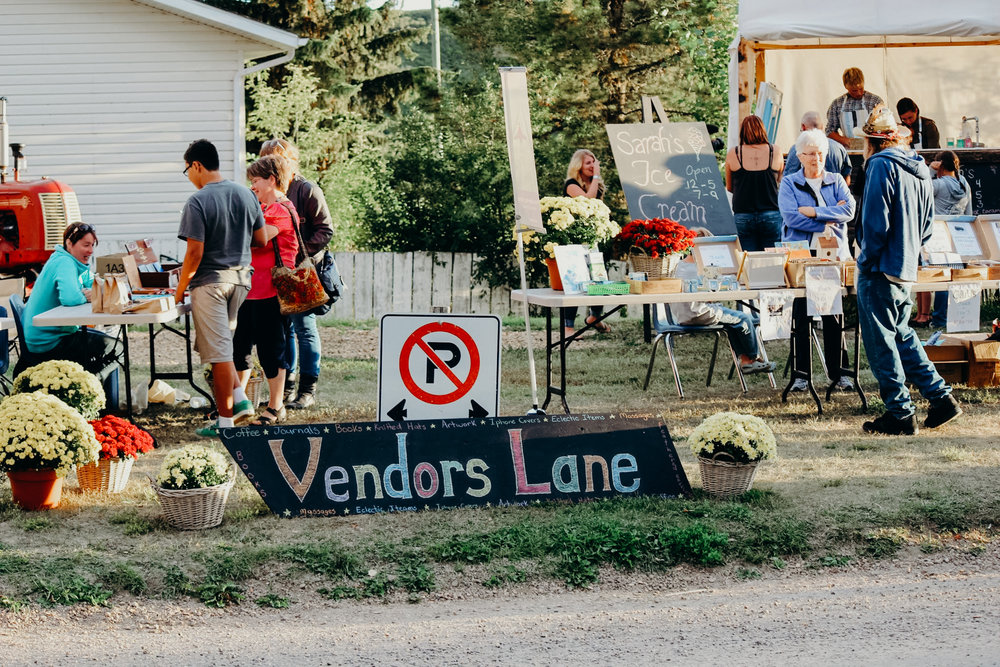 VENDOR'S LANE  - Interested in bringing your wares to sell at this year's festival? APPLY HERE!
