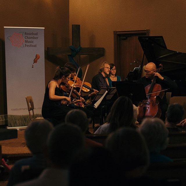 Who remembers this incredible performance of #Schumann's #piano quartet in 2016? . . . . #music #chambermusic #pianoquartet #peterlongworth #rosebud #rosebudarts #yycarts #yycmusic #albertafestivals #albertamusic #classicalmusic #violin #cello #musically #musicphotography #musicians