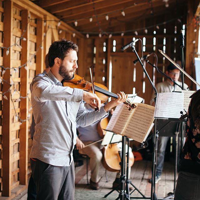 He's back! Fresh off performances at @musicbytheseacanada & @tsmfestival, @schwebelclef joins us for the sixth #rosebudchambermusicfestival.  #photo: @laurenhammphotography . . . . #violinist #canadianmusic #canadianmusician #albertafiddle #yycmusic #yycarts #rosebud #rosebudarts #rosebudmusic #rosebudmusicfestival #albertamusic #albertamusicfestival #aaronschwebel #guadagnini #guadagniniviolin #albertatravel #albertatourism