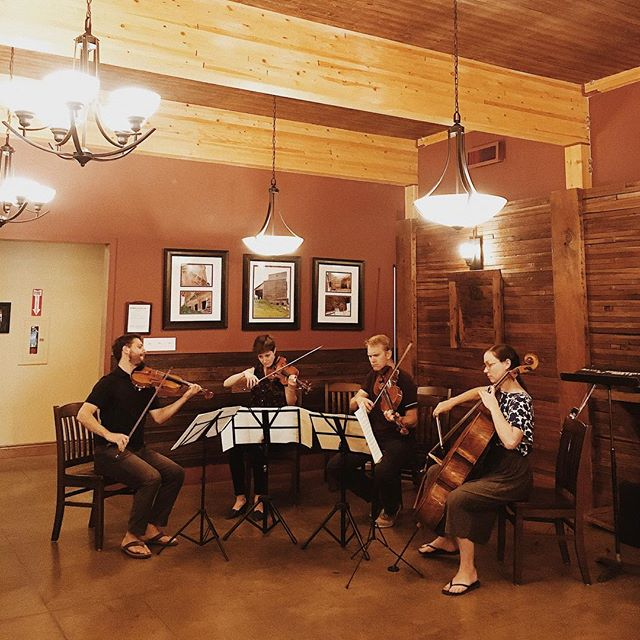 The annual reading party is underway! Come over to the Rosebud Mercantile for some food and drinks and to experience classical music in an intimate, casual setting. . . . #rosebudchambermusicfestival #rosebudtheatre #albertaarts #chambermusic #rosebudfestivals #yycarts