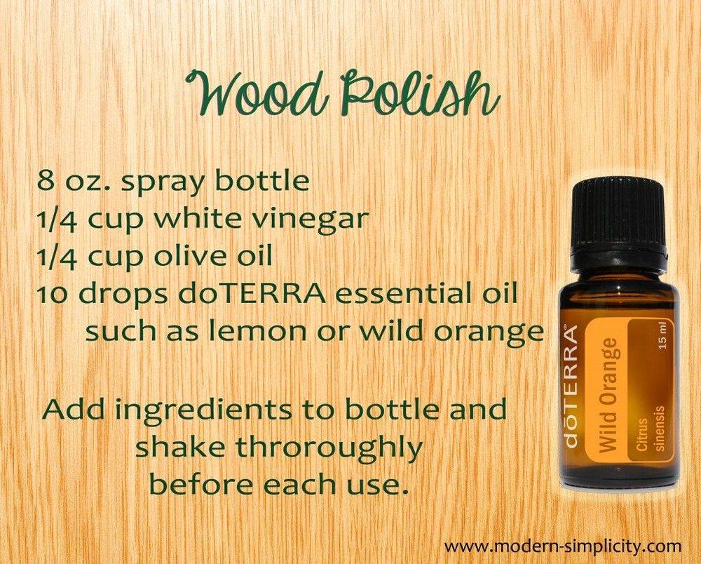 All Natural Wood Polish