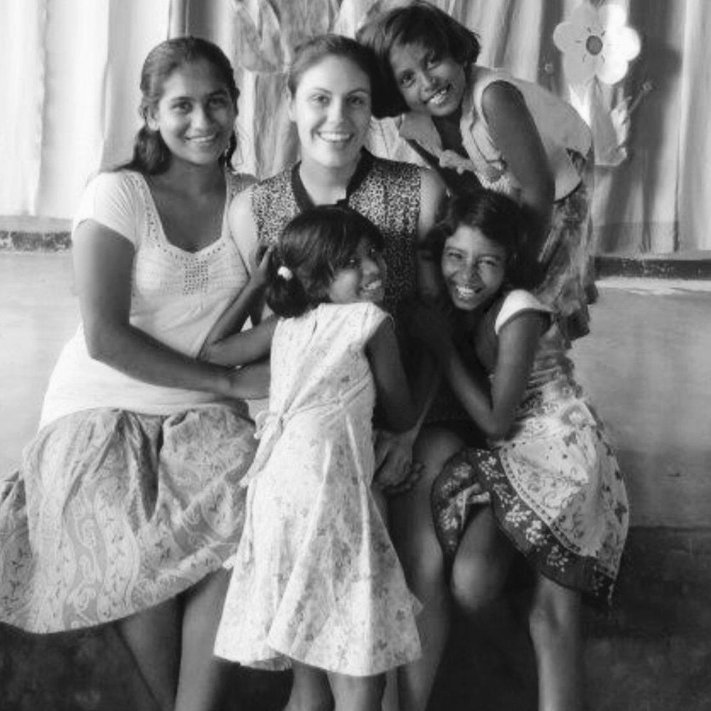 Khara, 2013, at an orphanage in Kurungala, Sri Lanka