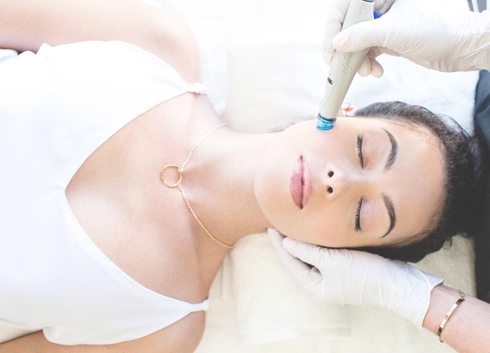 Hydrafacial - Diminish fine lines and wrinkles. Even out skin tone and texture.Reduce pore size and remove excess oil. Hydrafacial's patented technology willimprove the way your skin looks, and with frequent treatments, it will restore skin health, too.