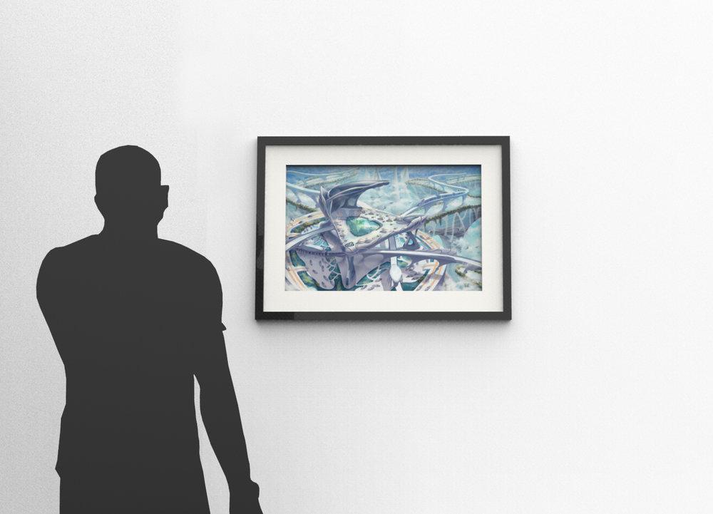 "2. Avalon Gallery Frame (31"" x 22.5"")"