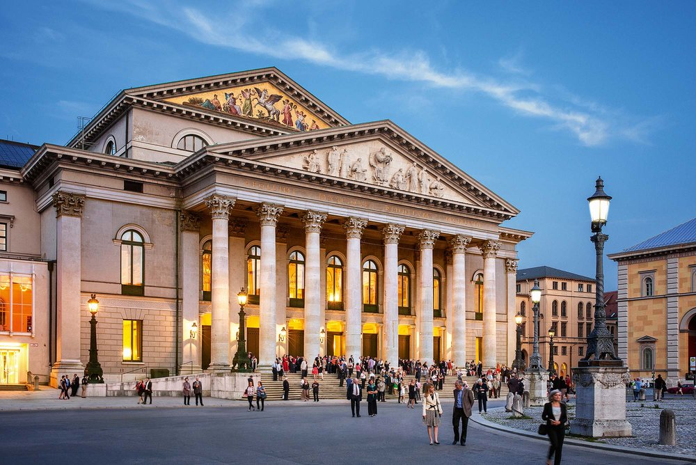 The Bayerische Staatsoper, or the Bavarian State Opera in Munich. Photo © Felix Loechner