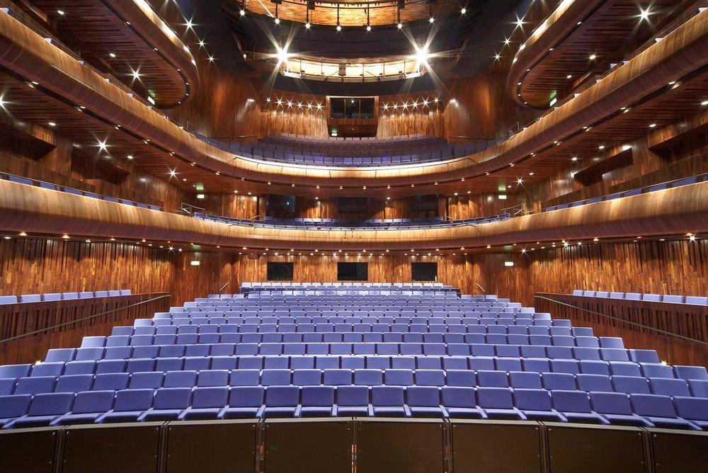 The auditorium of Wexford Festival Opera.