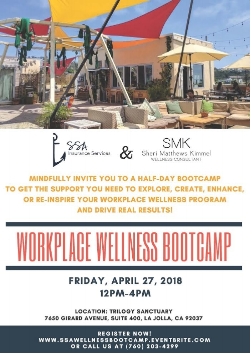 For Companies in San Diego who want to be health and happy