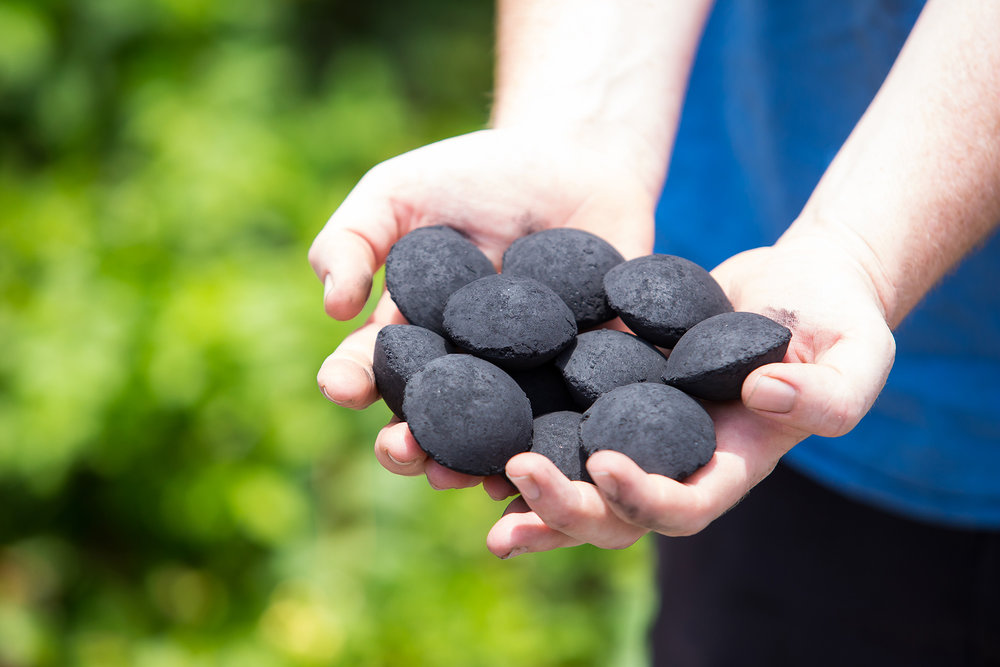 Black Pearl Charcoal for barbeques