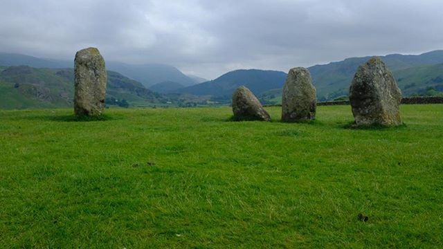 Druid circle. Lake District.