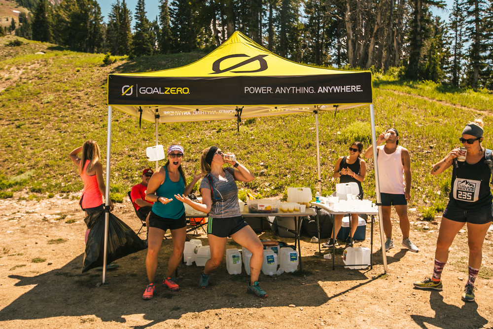 AID STATIONS - Two aid stations are set up at each race. We will have water, gummies, bars, & Gnarly Nutrition electrolyte beverages. Aid stations are staffed with volunteers and we have EMT's available as needed.
