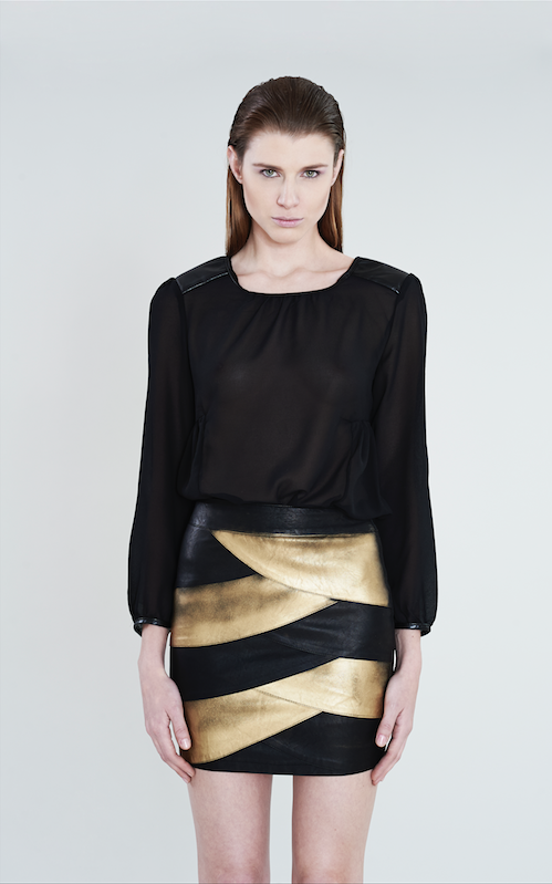 GOLDEN SKIRT -