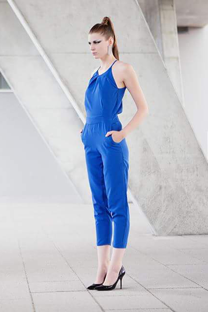 BLUE OVERALL -