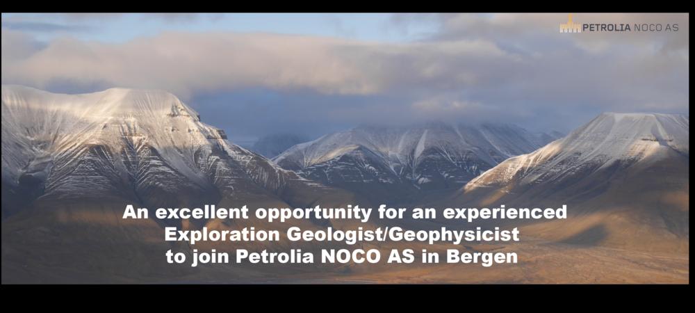 Geologist/Geophysicist job posting