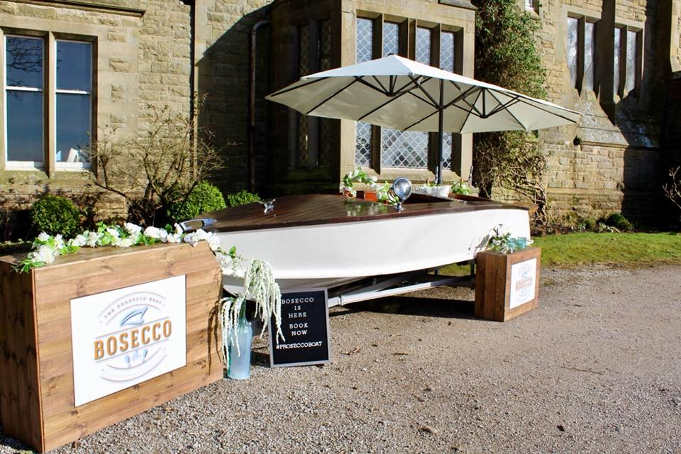 Bosecco - The Prosecco Boat - Design and Build by Quirky Group